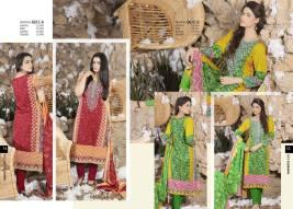 Khaddar Fabric Shalwar Kameez Winter Wear By Rashid 2015-16 4