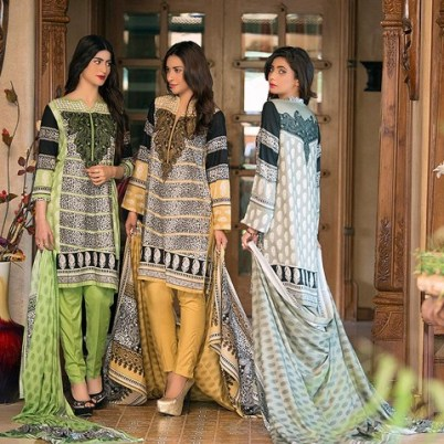 Linen Embroidered Winter Collection By Ittehad 2015-16 4