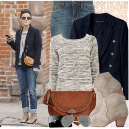 Must See Winter Outfits With Ankle Boots Fashion 13