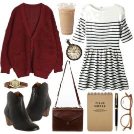 Must See Winter Outfits With Ankle Boots Fashion 5