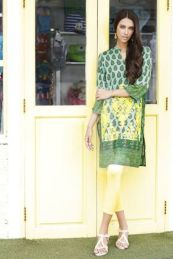 Pret Linen Winter Dresses For Women By Nishat Linen 2015-16 14