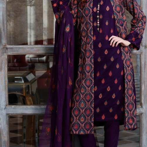 ab7cc41f66b2 Printed Kameez Fall Collection By Bareeze 2015-16