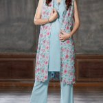Printed Kameez Fall Collection By Bareeze 2015-16 3