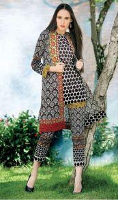 Printed Khaddar Shalwar Kameez By Orient 2016