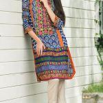 Printed Khaddar Shalwar Kameez By Orient 2016 18