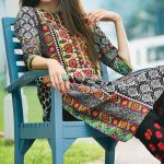 Printed Khaddar Shalwar Kameez By Orient 2016 19