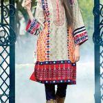 Printed Khaddar Shalwar Kameez By Orient 2016 20