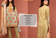 Silk Karandi Embroidery Dresses By Warda 2015-16