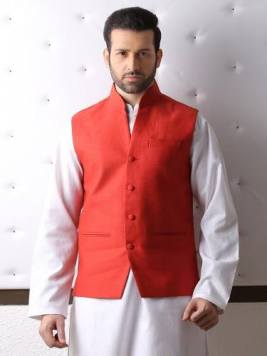 Traditional Waist Coat Designs For Men By Eden Robe 2015-16 7