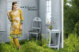 Two Piece Embroidered Polyester Kameez By Khaadi 2015 13