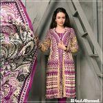Velvet Shalwar Kameez Collection By Gul Ahmed 2016 18