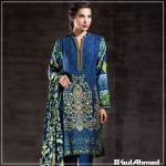 Velvet Shalwar Kameez Collection By Gul Ahmed 2016 20