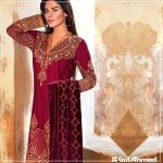 Velvet Shalwar Kameez Collection By Gul Ahmed 2016 9