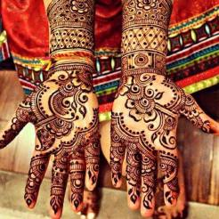 Winter Bridal Mehndi Ideas Fashion 2015-16 14