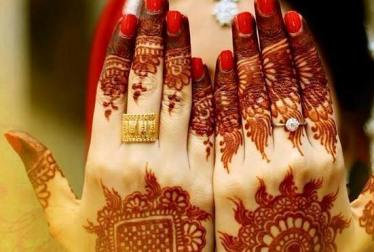Winter Bridal Mehndi Ideas Fashion 2015-16