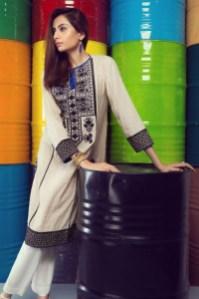 Winter Pret Kurtas Designs For Women By Khaadi 2015-16
