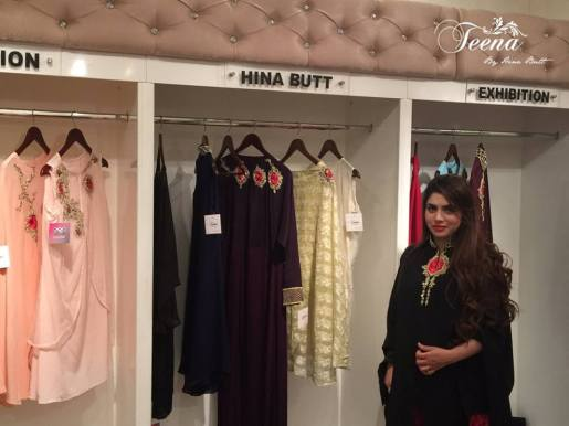 Winter Wedding Party Dresses Teena By Hina Butt 2015-16 5