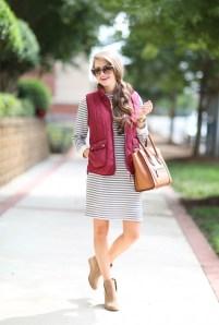 Women Puffer Vest Designs For This Fall Season 12