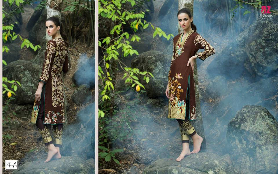 linen embroidered kurtis
