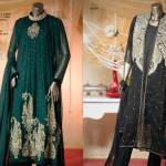 Embroidered Chiffon Winter Dresses By J. Junaid Jamshed 2015