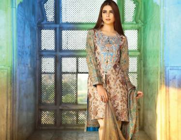 floral embroidery on kameez