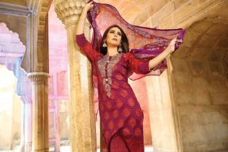 Embroidered Luxury Dresses Deeba Collection By Shariq 2016 3