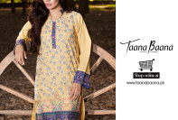 Embroidered Pret Dresses By Taana Baana 2016 9