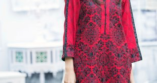 Embroidered Winter Pret Wear By Mausummery 2015-16