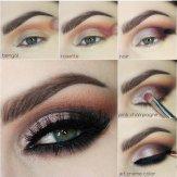 Eye Makeup Tutorial For Fall Season Styling 5