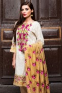 Floral Pattern Embroidery Collection By Khaadi 2016 2