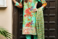 Floral Pattern Embroidery Collection By Khaadi 2016