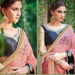 Formal Saree Designs By Saheli Couture 2016 2