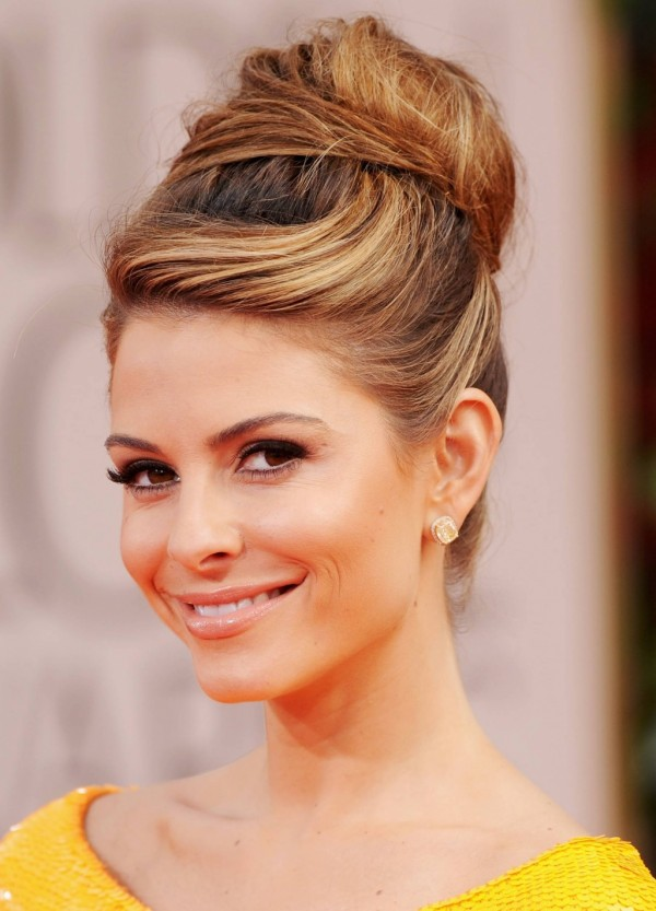 Bun hairdo idea