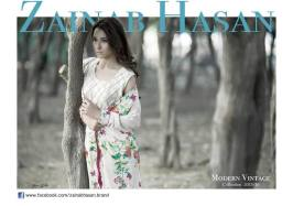 Modern Vintage Shalwar Suits Collection By Zainab Hasan 2016 3