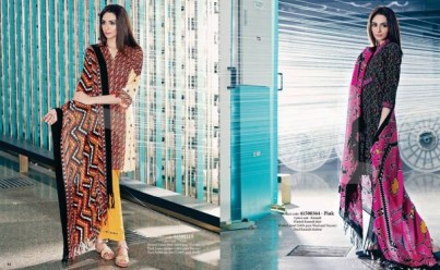 Nishat Linen Winter Collection 2015 For Casual & Formal Wearing 9