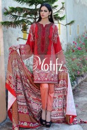 Printed Karandi Winter Collection By Motifz 2015-16 9