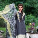 Three Piece Winter Shalwar Kameez By Pareesa 2015-16 11