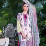Three Piece Winter Shalwar Kameez By Pareesa 2015-16 4