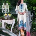 Three Piece Winter Shalwar Kameez By Pareesa 2015-16 6