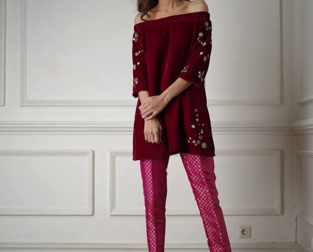 Winter Evening Wear Collection By Misha Lakhani 2015-16