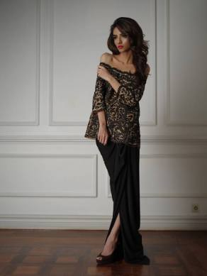 Winter Evening Wear Collection By Misha Lakhani 2015-16 2
