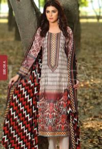Winter Khaadi Printed Shalwar Kameez By Lala Textiles 2015-16 10