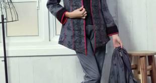 Winter Pret Shalwar Suit Collection By Alkaram 2015-16