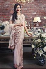 Embroidered Fabric Sarees Thredz & Motifz 2016 4