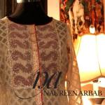 Embroidered Formal Collection Naureen Arbab Dresses 2016 3