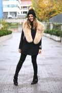 Faux Fur Stole Every Girl Should Wear This Winter 11