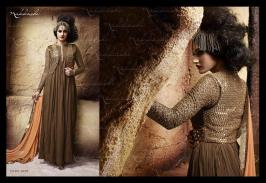 Formal Wear Long Party Wear Collection Nakkashi 2016 3