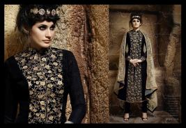 Formal Wear Long Party Wear Collection Nakkashi 2016 8