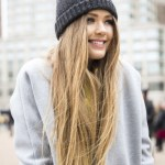 Hair Under Winter Hats Styling Ideas Women Should See 9