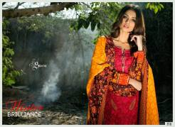 Khaddar Shawl Dress Collection Sabeen Pasha 2016 19